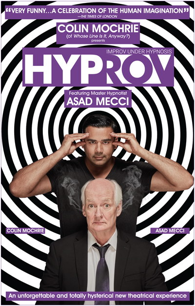 HYPROV: Improv Comedy Under Hypnosis